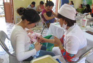 23 triệu trẻ em được tiêm vắc-xin miễn phí