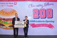 Lotteria khai trương cửa hàng thứ 200