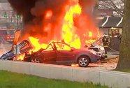 Mỹ: Trực thăng lao xuống đường, 2 người chết