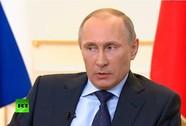 """Tổng thống Putin: """"Không cần dùng vũ lực ở Crimea"""""""