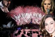 Muôn kiểu sao mừng năm mới 2014