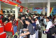 """Hơn 330 công nhân - sinh viên đã quê ăn tết trên chuyến bay """"Tết  trọn từng giây"""""""