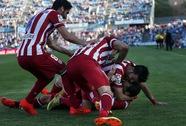 """""""Hai"""" Diego lập công, Atletico Madrid độc chiếm ngôi đầu Liga"""
