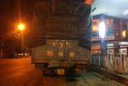 Chờ trạm cân mải xem U19 đá, xe tải lén vượt trạm