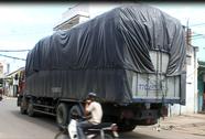 Tài xế xe tải lái xe vi phạm bỏ trốn