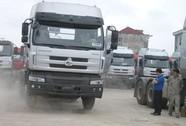 Xe tải Trung Quốc giá rẻ kém chất lượng ồ ạt vào Việt Nam