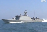 Tàu Triều Tiên trôi vào biển Hàn Quốc