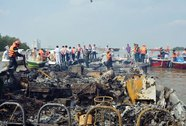 Sau một năm cháy tàu cánh ngầm, hành khách vẫn chưa được bồi thường thiệt hại