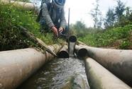 Sông Trường Giang giãy chết
