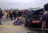 Hưng Yên: Va chạm với xe quân đội, 5 người chết