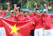 Việt Nam lên nhóm 2 Davis Cup
