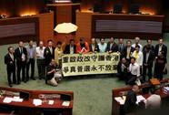 """Hồng Kông phản đối """"dân chủ giả tạo"""""""