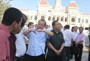 Ngày 20-4, hoàn thành tuyến phố đi bộ Nguyễn Huệ