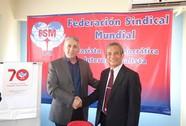 Tăng cường hợp tác với Công đoàn Hy Lạp