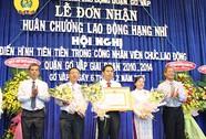 LĐLĐ quận Gò Vấp nhận Huân chương Lao động hạng nhì