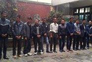 Bắt 11 cò mồi giả xe ôm trước ngày khai hội chùa Hương