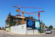 Công trình Mường Thanh Khánh Hòa dừng thi công