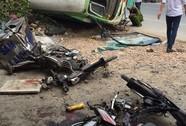 """Xe buýt lật, 5 người thương vong: """"Mù"""" thông tin về tài xế"""