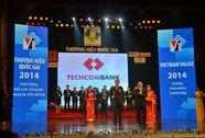 Techcombank 3 lần liên tiếp nhận Thương hiệu quốc gia