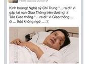 NSƯT Chí Trung bị tế sống trên Facebook