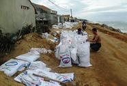 Hút cát cửa sông, dân mất nhà