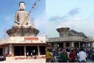 Đã xác định nguyên nhân tượng Phật cao nhất miền Bắc đổ sập