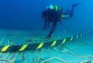Hoàn tất hàn nối cáp quang biển bị đứt