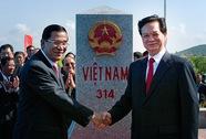 Việt Nam - Campuchia sắp hoàn tất phân giới, cắm mốc