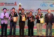 Lê Quang Liêm đăng quang Giải cờ vua quốc tế HDBank Cup 2015