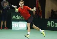 Đương kim vô địch Thụy Sĩ bị loại sớm ở Davis Cup