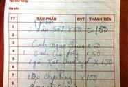 """""""Chặt chém"""" 2 bát cơm, nhà hàng ở Sầm Sơn bị phạt 20 triệu đồng"""