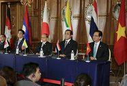 Nhật tăng mạnh viện trợ cho 5 nước Mekong