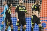 Anh – Ý cầm chân nhau, Tây Ban Nha thua thảm trên đất Hà Lan