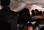 4 phụ nữ Trung Quốc đánh nhau trên máy bay