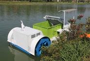 Robot hút tảo sắp xuất hiện trên hồ Xuân Hương