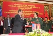 Việt-Mỹ ký Tuyên bố tầm nhìn chung về quan hệ quốc phòng