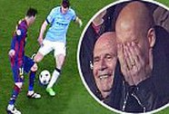 """Messi """"xỏ kim"""" Milner, HLV Guardiola kinh ngạc"""