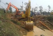 Hà Nội: Lần thứ 10 vỡ đường ống nước sông Đà