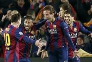 Đêm Nou Camp rực lửa, Barcelona hạ gục Man City