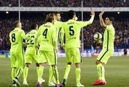 Neymar lập đại công, Barcelona nhấn chìm Atletico trong trận cầu bạo lực