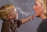 Trẻ phơi nhiễm khói thuốc lá dễ bị đau tim
