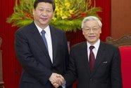 Thu xếp chuyến thăm Việt Nam của Chủ tịch Trung Quốc Tập Cận Bình