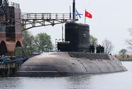 Tàu ngầm Kilo Hải Phòng đã về Cam Ranh