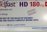 6 loại thuốc ngoại dùng phổ biến bị ngừng lưu hành