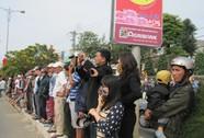 Hàng ngàn người đến sớm đưa tiễn ông Nguyễn Bá Thanh