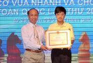Khen thưởng kỳ thủ Nguyễn Anh Khôi