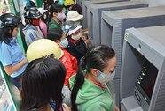 ATM hết tiền, báo đường dây nóng