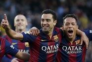 """Messi, Suarez lập cú đúp, Barcelona thắng 6 """"sao"""""""