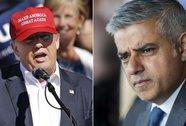 """Tân thị trưởng London chỉ trích """"quan điểm ngu dốt"""" của ông Trump"""