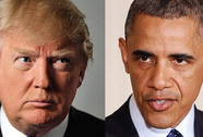 Cuộc chiến tay đôi Obama - Trump